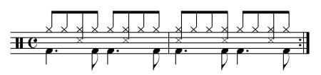 Play Drums Latin Bossa Nova Drumset Beat
